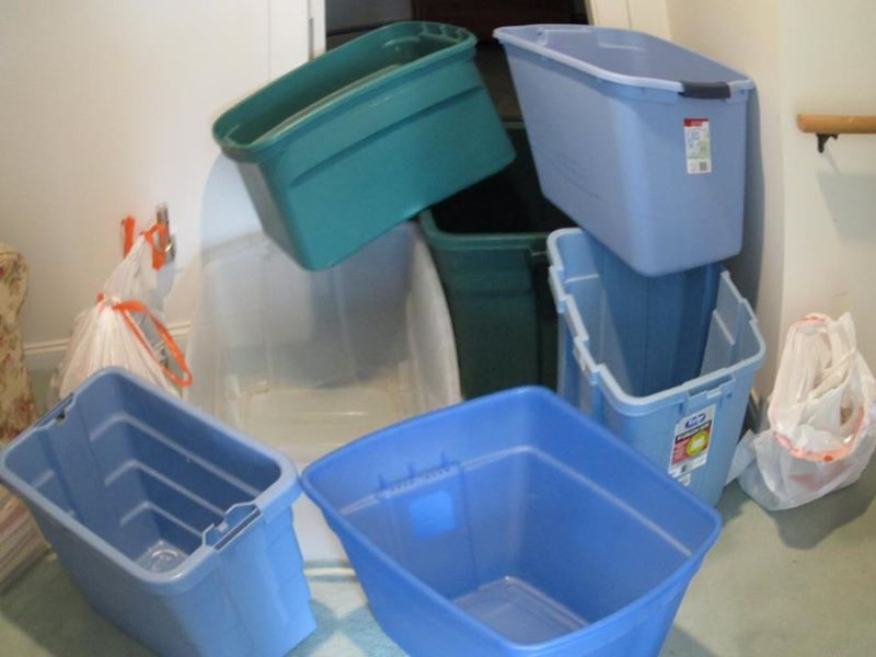 Organizing containers and bins